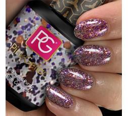 PINK GELLAC 206 Beddazled Purple, color esmalte de gel permanente para unas uñas cuidadas y bien decoradas.
