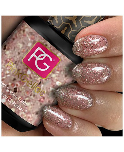 Pink Gellac 197 Golden Glam Color Esmalte Gel Permanente