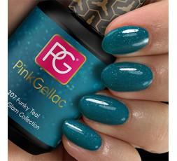 ¡Consigue un estilo súper funky con el color de esmalte de uñas permanente 207 Funky Teal!