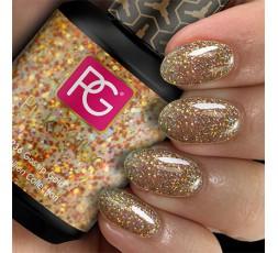 Pink Gellac 236 Gossip Gold un esmalte para hacer resaltar tu manicura.