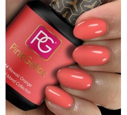 Pink Gellac 244 Hawaii Orange es un color naranja muy original.