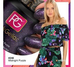 Combina muy bien con tonos lilas y rosas.
