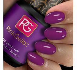 Pink Gellac 250 Orchid Purple es un color morado fresco. Esta mezcla de azul y rojo es como la flor.