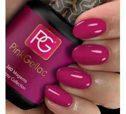 Pink Gellac 260 Magenta es un color rosa chillón que resalta mucho.
