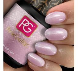 El 131 Baby Lila de Pink Gellac es un color de esmalte de gel lila claro con un sutil destello.