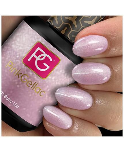Pink Gellac 131 Baby Lila Color Esmalte Gel Permanente