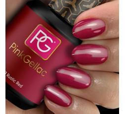 Bonito color rojo cálido, ideal para alegrar los días grises de invierno. Pink Gellac - FarmaVenta