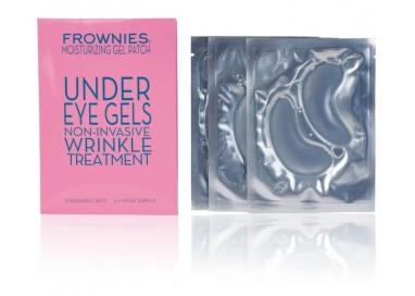 Parches de gel de colágeno 'Under Eyes' de Frownies contra arrugas, bolsas y ojeras contorno de ojos
