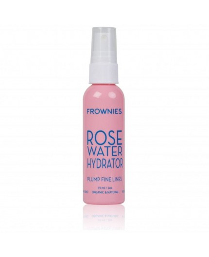 Tónico hidratante agua de rosas con ácido hialurónico de Frownies