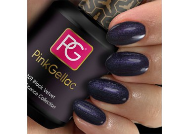 Pink Gellac 201 Black Velvet Color Esmalte Gel Permanente