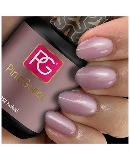 Pink Gellac 152 Naked Color Esmalte Gel Permanente
