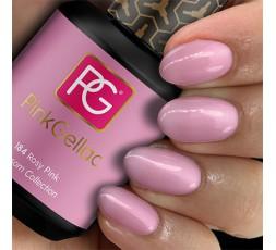 Llamativo combinado con tonos lila, plateados o dorados para dar un toque más festivo a tu manicura.