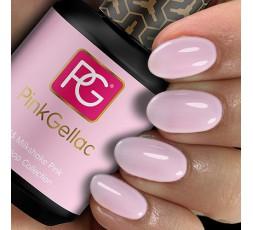 Pink Gellac 265 Milkshake Pink es un color rosa suave muy combinable.