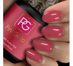 Pink Gellac 282 Dusky Pink es un rosa con un intenso matiz que lo hace casi rojo.