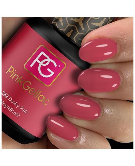 Pink Gellac 282 Dusky Pink Color Esmalte Gel Permanente