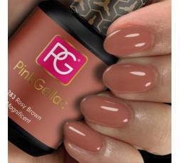 Pink Gellac 283 Rosy Brown un color nude rosa amarronado.