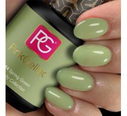 Nuevo color de Pink Gellac verde primavera - esmalte en gel permanente