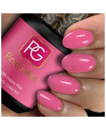 Pink Gellac 285 Happy Pink Color Esmalte Gel Permanente