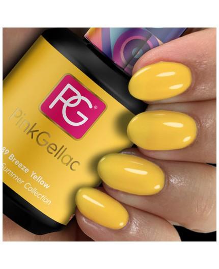 Pink Gellac 289 Breeze Yellow color esmalte gel permanente