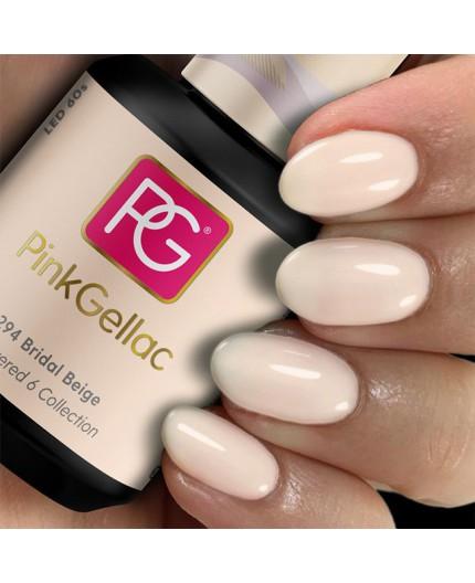Pink Gellac 294 Bridal Beige color esmalte gel permanente