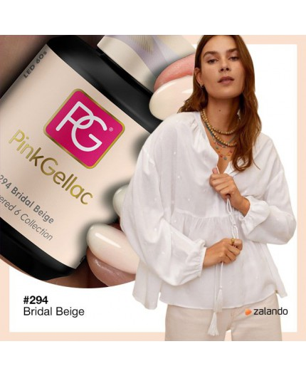 Pink Gellac 294 Bridal Beige color esmalte gel permanente