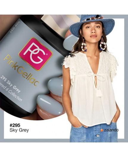 Pink Gellac 295 Sky Grey color esmalte gel permanente