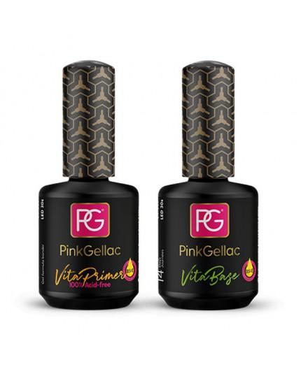 Vita Set para uñas dañadas de Pink Gellac