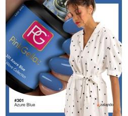 Este azul vivo e intenso pertenece a la colección Island Wave de Pink Gellac.