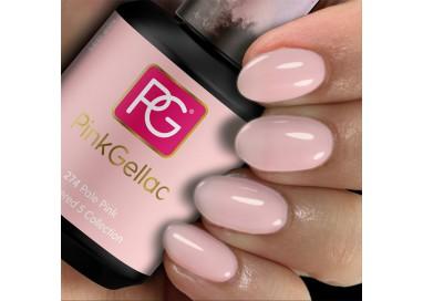 Pink Gellac 274 Pale Pink es un color neutro de esmalte en gel permanente.