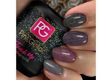 Estas minúsculas partículas de purpurina crean un efecto extra dimensional.