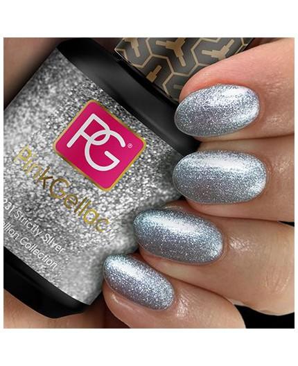 Pink Gellac 231 Strictly Silver Color Esmalte Gel Permanente