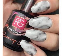 diseño uñas de mármol