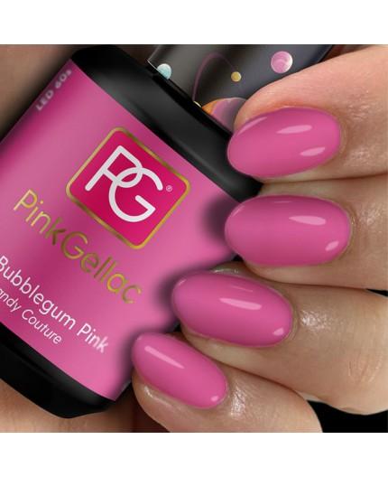 Pink Gellac 212 Bubblegum Pink Color Esmalte Gel Permanente