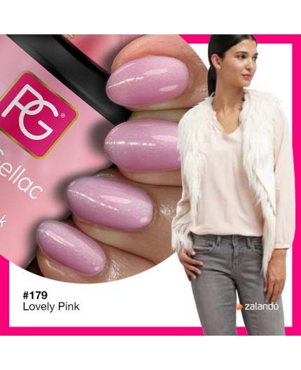 Pink Gellac 179 Lovely Pink Color Esmalte Gel Permanente
