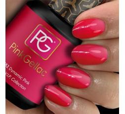182 Dynamic Pink. Un color rosa subido, alegre y atrevido. Muy bonito combinado con un vestuario totalmente en negro.