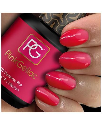 Pink Gellac 182 Dynamic Pink Color de pintauñas permanente