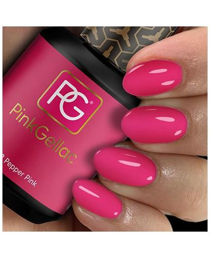 Pink Gellac 103 Pepper Pink Color de pintauñas permanente