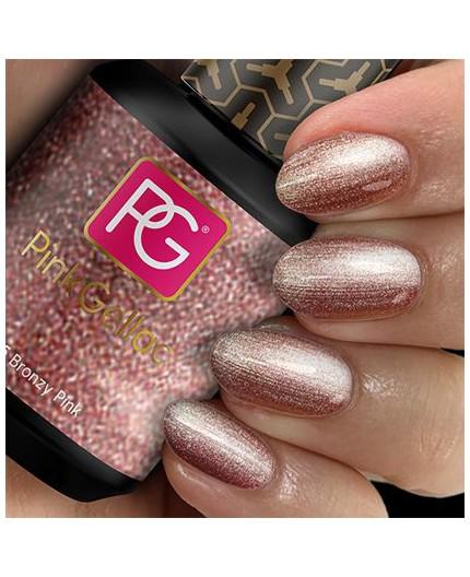 Pink Gellac 125 Bronzy Pink Color Esmalte Gel Permanente