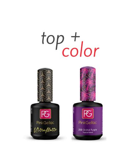 Top Ultra Matte + Color 250 Orchid Purple