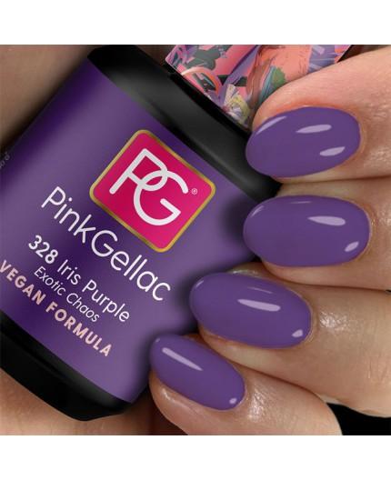 Pink Gellac 328 Iris Purple Color esmalte gel permanente