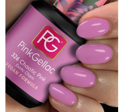 Este rosa te va a encantar: 326 Chaotic Pink el nuevo color de esmalte rosa con un toque frío destaca en cualquier manicura.
