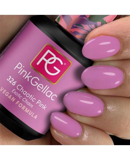 Pink Gellac 326 Chaotic Pink Color esmalte gel permanente
