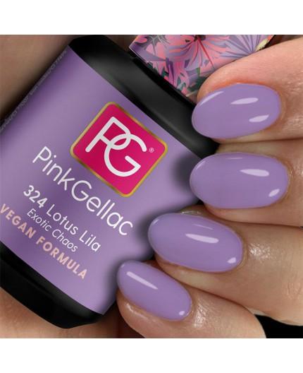 Pink Gellac 324 Lotus Lila Esmalte en Gel Permamente