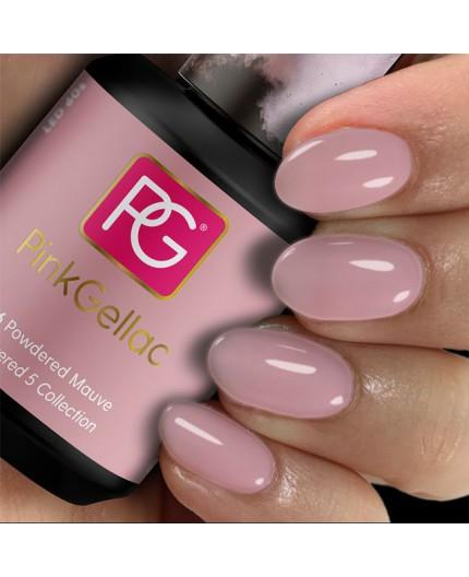 Pink Gellac 276 Powdered Mauve Color Esmalte Gel Permanente