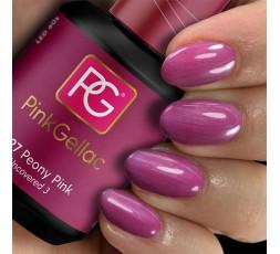 Pink Gellac 227 Peony Pink es un color rosa oscuro. Muy alegre y llamativo que se lleva durante todas las temporadas.