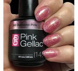 Pink Gellac 237 Pearly Pink es un color rosa muy dulce con un brillo perla.