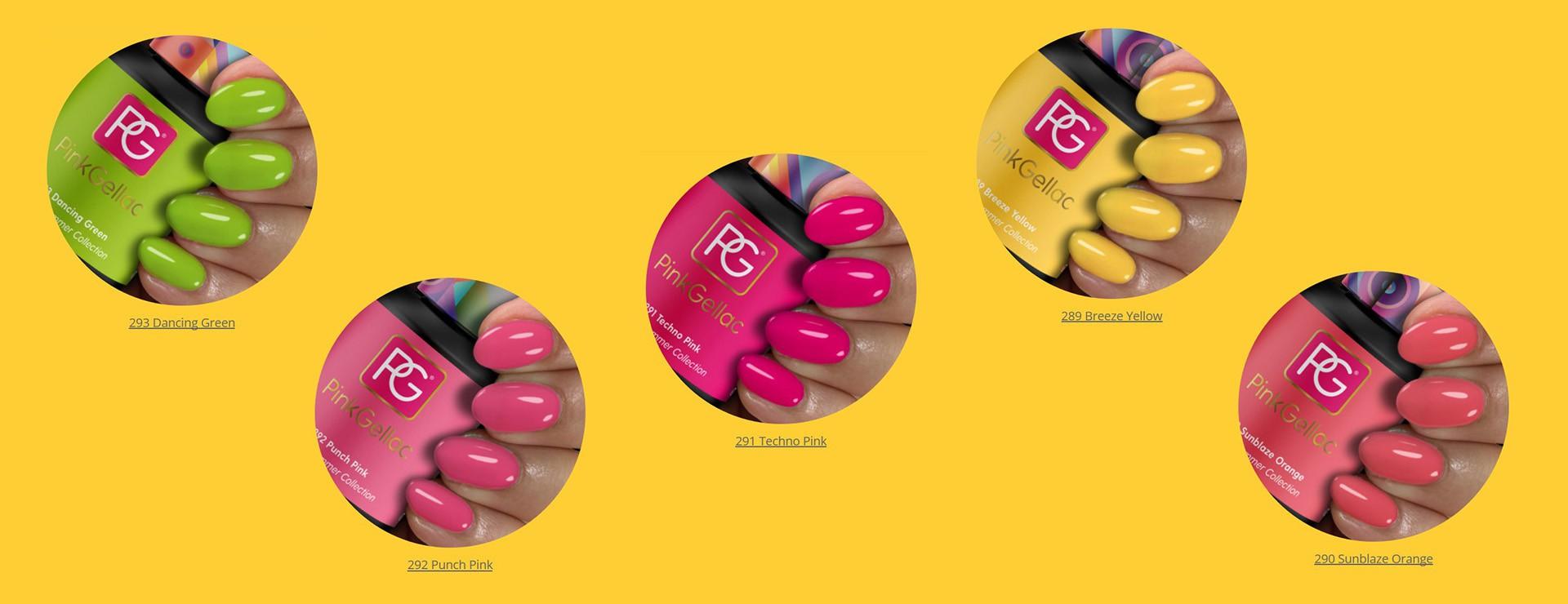 summer festival pink gellac